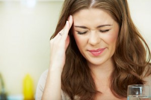 Headache sufferer who could benefit from Trudenta
