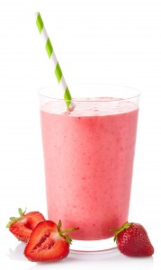 strawberry smoothie shutterstock_213409228