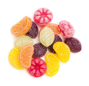 hard candy, food to avoid